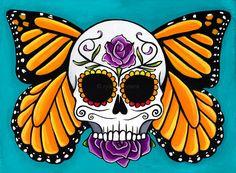 dia de los muertos butterfly - Google Search
