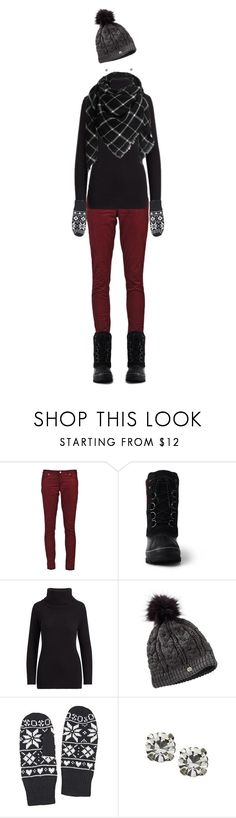 """Snow day!"" by pemberlyp ❤ liked on Polyvore featuring Paige Denim, Lands' End and Ralph Lauren"