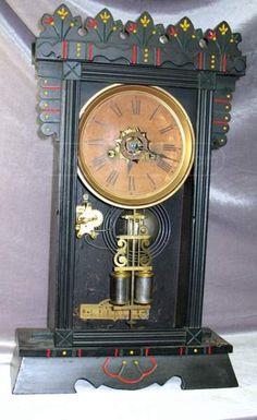 shopgoodwill.com: Vintage Ansonia Mantle Clock