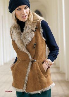 Shearling coat and Coats on Pinterest