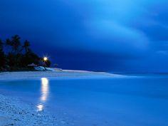 Boathouse at Dawn - Fiji