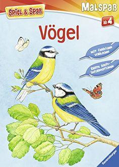 Spiel & Spaß - Malspaß: Vögel von Christina Berens http://www.amazon.de/dp/3473558230/ref=cm_sw_r_pi_dp_mEgsvb1F2ZEKV