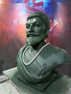 Shivaji Maharaj Hd Wallpaper, Pottery Sculpture, Krishna, My Hero, Mud, Temple, Motivational Quotes, Sculptures, Idol