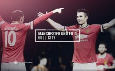 Match poster: Manchester United 3 - 0 Hull City, 29 November 2014. Designed by @Manchester United.