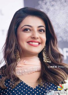 Kajal Aggarwal - (born 19 June 1985) is an Indian film actress and model. She has established a career in the Tamil and Telugu film industries and has been nominated for four Filmfare Awards South.  IMAGES, GIF, ANIMATED GIF, WALLPAPER, STICKER FOR WHATSAPP & FACEBOOK