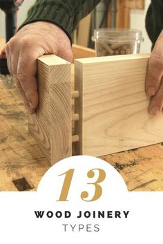 Learn 13 Wood Joinery Techniques & Grab Those Pallets! From butt joints to dovetail and box joints, you'll learn joinery methods for your next upcycled project! Woodworking Joints, Learn Woodworking, Easy Woodworking Projects, Popular Woodworking, Woodworking Techniques, Diy Pallet Projects, Woodworking Plans, Woodworking Furniture, Woodworking Store