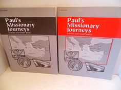A Beka LOT Paul's Missionary Journeys Grade 8 Test Quizzes Review Teacher Key
