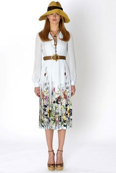Absolutely in Love with this dress:Gucci Resort 2013