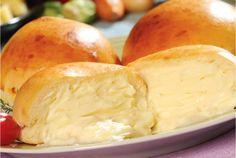 Veja a receita: Pão de batata recheado com requeijão