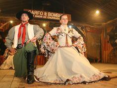 Traditional gaucho clothing