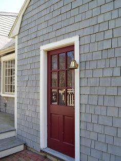 Love This Front Door Color Martha Stewart Home Depot Chocolate - House front door