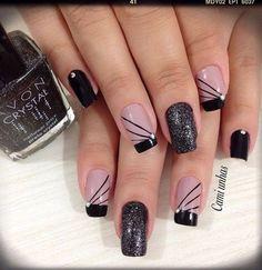 Trendy nails acrylic designs tips silver White Nail Designs, Diy Nail Designs, Acrylic Nail Designs, Acrylic Nails, Acrylic Colors, Diy Design, Trendy Nail Art, Stylish Nails, Blue Nails