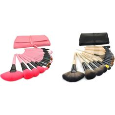 """""""Makeup Brushes set"""" by caseswill on Polyvore"""