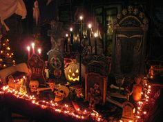 Halloween Lighting sets the scene!
