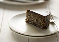 Hungarian poppyseed and walnut cake