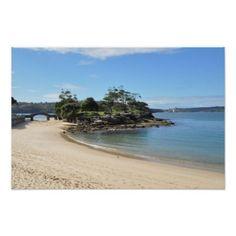 Balmoral Beach New South Wales Poster - decor gifts diy home & living cyo giftidea