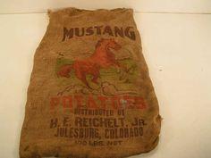 Mustang Brand Potato Sack