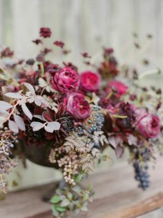 REVEL: Pink   Plum Centerpiece