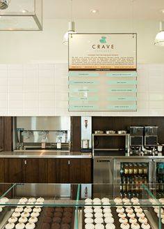 Crave Cupcakes | AvroKo | A Design and Concept Firm