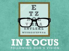 In Focus Sermon Series on Behance