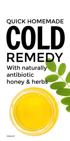 This quick, DIY homemade cold remedy for kids and adults can bring relief to sore throats, chest congestion and sinus infections fast. Including naturally antibiotic and antiseptic apple cider vinegar, honey, lemon and real herbs rather than essential oils it's an easy natural remedy that really does work and make you feel better fast. #quickcoldremedy #naturalcoldremedy #naturalcoldrelief #sorethroat #sorethroatrelief Quick Cold Remedies, Homemade Cold Remedies, Natural Cold Remedies, Holistic Remedies, Homeopathic Remedies, Recipe Using Honey, Sore Throat Relief, Cold Medicine, Cold Symptoms