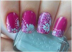 Fun Nail Art for Summer - I want this on my toes!