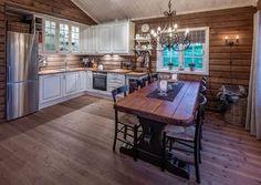 Roger's Hytteside - Den ferdige hytta Cabin Style, Decor, Little House, Kitchen, Home, Interior, Log Homes, Home Decor, Decor Styles