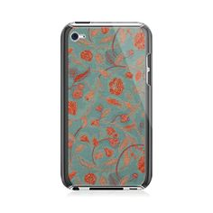 Red Flowers iPod Touch 4G Case
