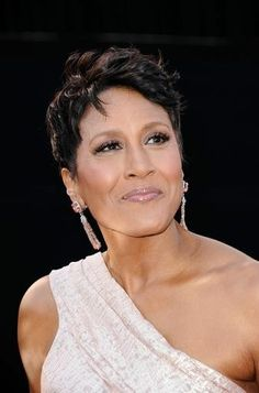 "Robin Roberts...Cancer Has Not Beaten ""GMA"" Anchor & ABC Correspondent, Robin Roberts...As of 2/10/1013, This Tough Gal Is Back After Yet Another Battle and Bone Marrow Transplant After Months of Recovery & Losing Her Beloved Mother...A Woman Who Is Inspiring Millions With Her Great Outlook & Fighting Spirit...Good Luck, Robin...We Are All Pulling For You!!"