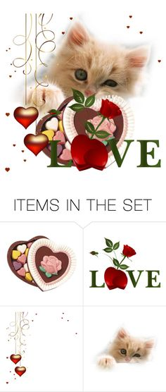 """""""Take My Heart & My Love"""" by daincyng ❤ liked on Polyvore featuring art"""