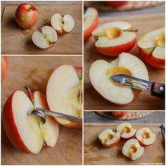 Préparation des pommes Deserts, Peach, Apple, Fruit, Food, Kitchens, Pressure Cooker Cake, Recipes, Peaches