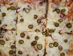 Pizza Gourmet Barbacoa Con Jalaños
