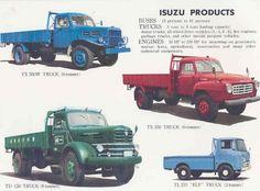 Isuzu Product Line 1960