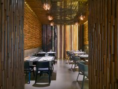 Restaurante Taiyo. El bambú, le da esencia.