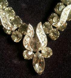 Weiss Rhinestone Necklace #Weiss