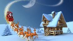 40 Los Mejores Wallpapers Ultra Hd Navidad (The Best 40 cristmas wallpaper ultra hd Merry Christmas Pictures, Merry Christmas Images, Beautiful Christmas Cards, Christmas Greetings, Christmas Wishes, Santa Sleigh, Santa And Reindeer, Female Reindeer, Santa Clause