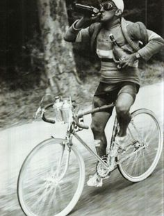 Beer on tour at the 1930 Tour De France