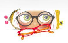 Étui à lunettes NANA ananas : Etuis, mini sacs par panie-s-follies