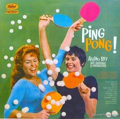 """Ping Pong!"" Alvino Rey His Guitars and Orchestra Capitol Records What a crazy party!"