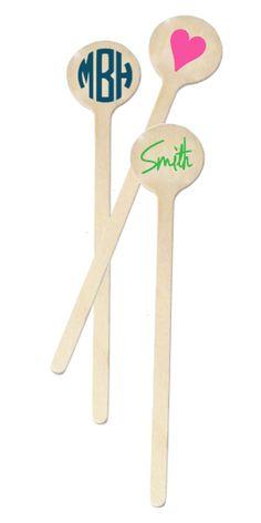 Custom Swizzle Sticks