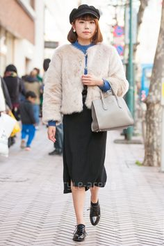 Shibuya Tokyo, Tokyo Street Style, Street Snap, Japanese Street Fashion, Furla, Fashion News, Winter Hats, Japan Street Fashion