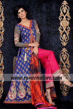 84833b3ef2 Asim jofa lawn collection 2014 lawn print suit Buy pakistani lawn clothing  and lawn prints by asim jofa lawn collection in usa, uk, australia, saudi  arabia