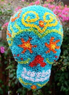 El Piñatero - Sugar Skull Day of the Dead Piñata - Pinata Art