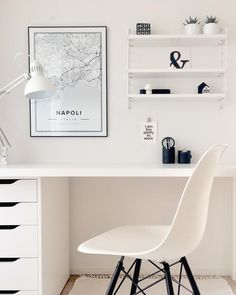 Map poster of Napoli, Italia. Print size 50 x 70 cm available at Mapiful.com