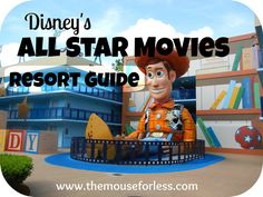 Disney's All Star Movies Resort Guide from themouseforless.com #DisneyWorld #Vacation