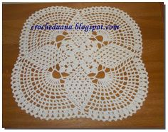 Crochês de Analu: Toalhinha