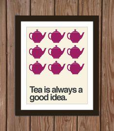 Tea is always a good idea. @michellerasoletti