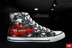 2e57488a09 Customized skull shoes -  customshoes  customizedshoes  dubaishoes   skulldesign  dubai  shoesdubai  couplesshoes  crazydesignshoes   canvasshoes  dxb  dubai ...