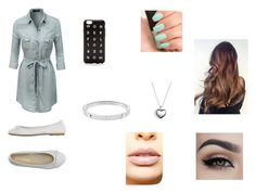 """""""a day with nash"""" by sashac11 on Polyvore featuring LE3NO, DIENNEG, J.Crew, Pandora, Michael Kors, NARS Cosmetics, LASplash, women's clothing, women and female"""