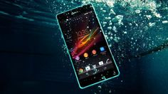 Sony Xperia ZR Smartphone Doubles as an Underwater Camera - PetaPixel Sony Mobile Phones, Sony Phone, Smartphone News, Quad, Phone Deals, Waterproof Phone, Sony Xperia Z3, All Smartphones, Mobile Phone Repair